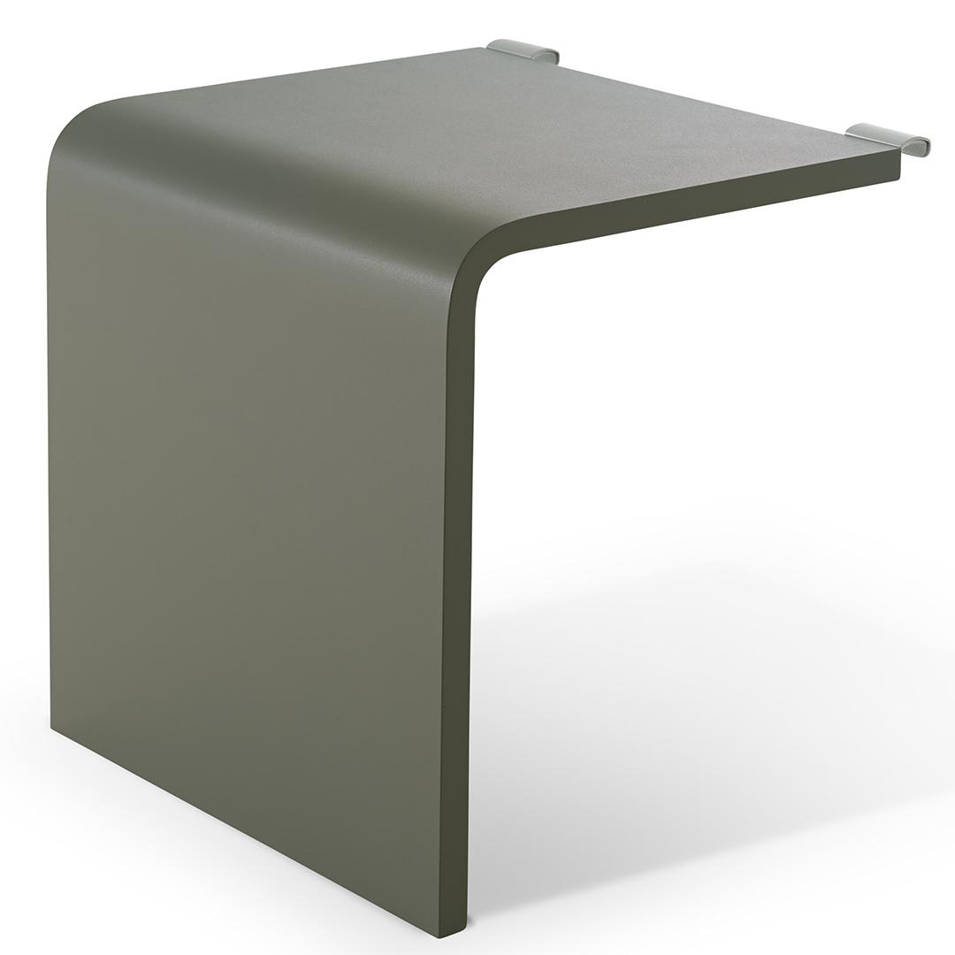 Billede af Auronde Sidebord 1500 Forest Green/Aluminium
