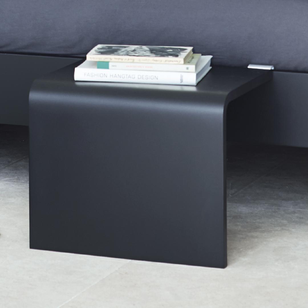 Billede af Auronde Sidebord til 1500 Chalk Grey Oak