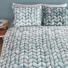 Bedding House Warmly Grey green