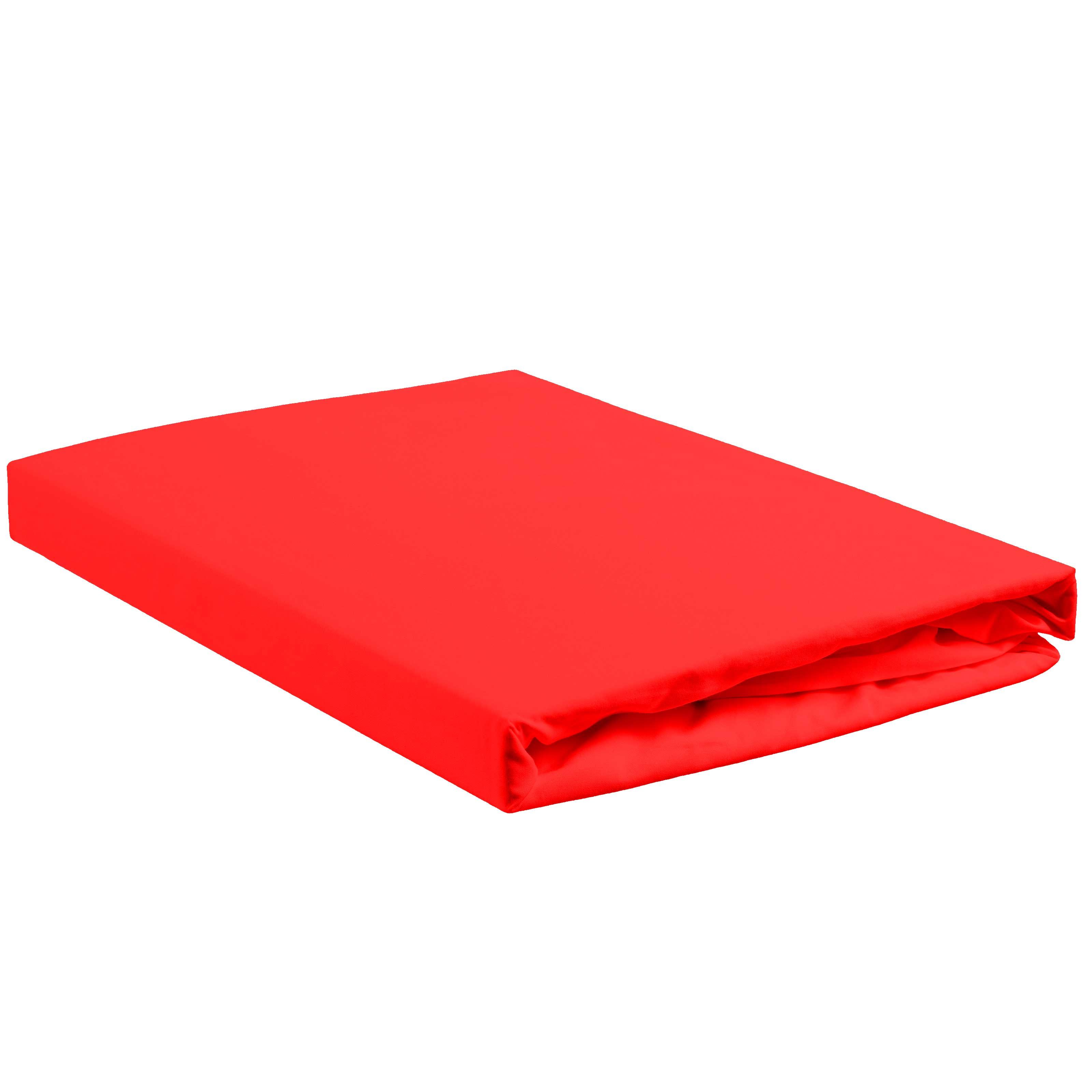 BH jersey faconlagen 140/160x200/220x28 Rød thumbnail