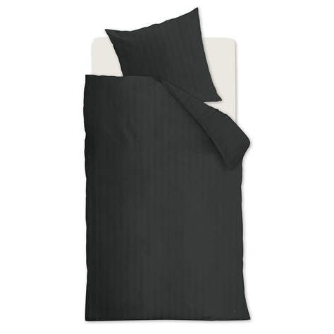 Bedding House Basic, satin Antracit