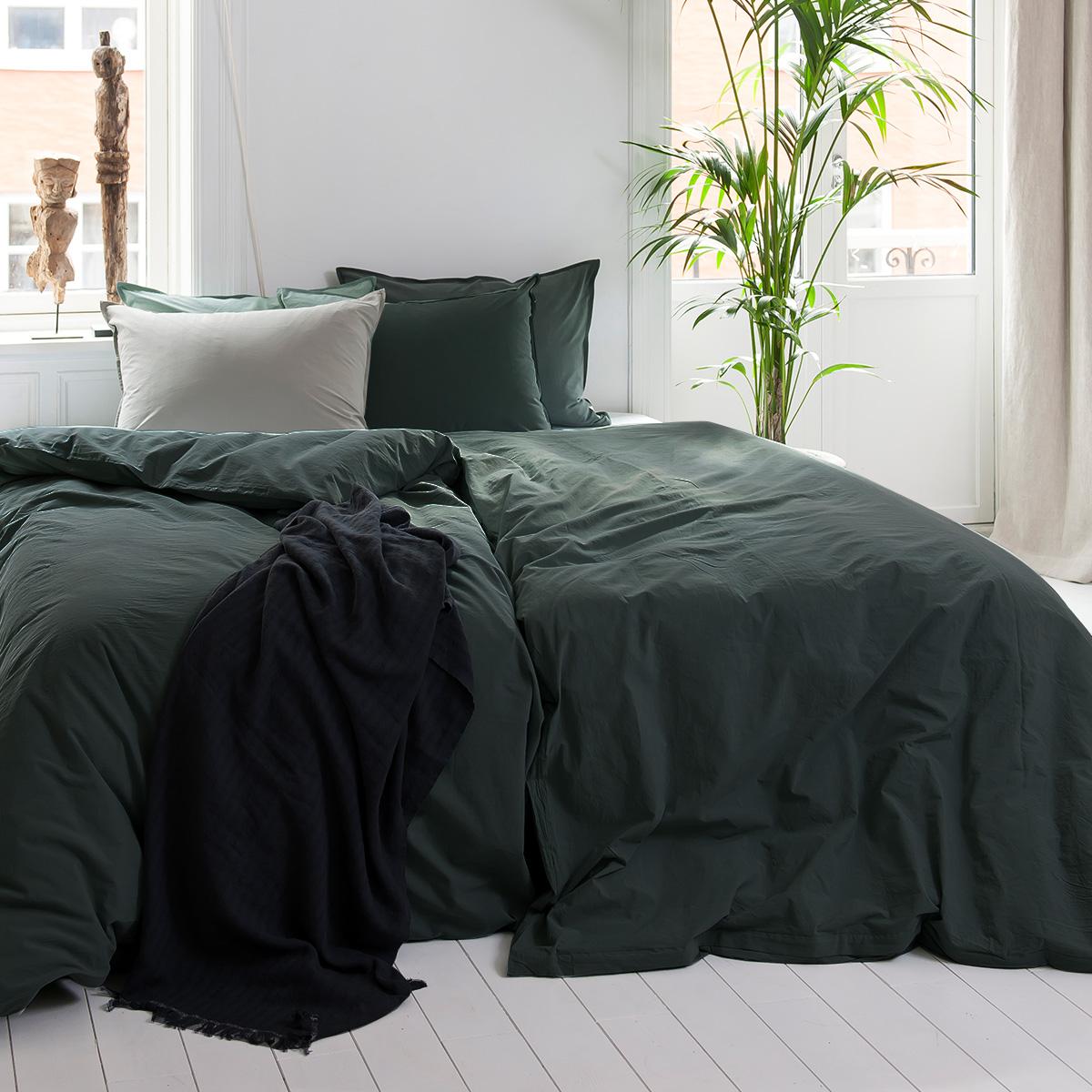 Billede af Borås sengelinned Loft Teal 140x200cm