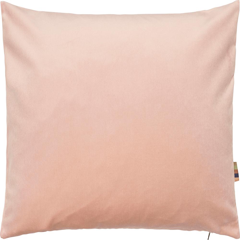 HMT Pyntepude m. fyld Leia Velour 70x70cm Rosa thumbnail