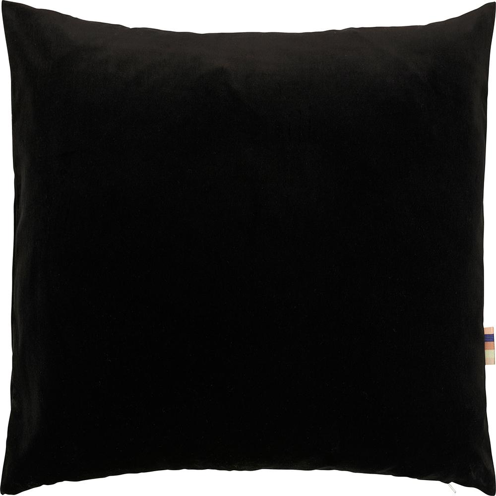 HMT Pyntepude m. fyld Leia Velour 50x50cm Sort thumbnail