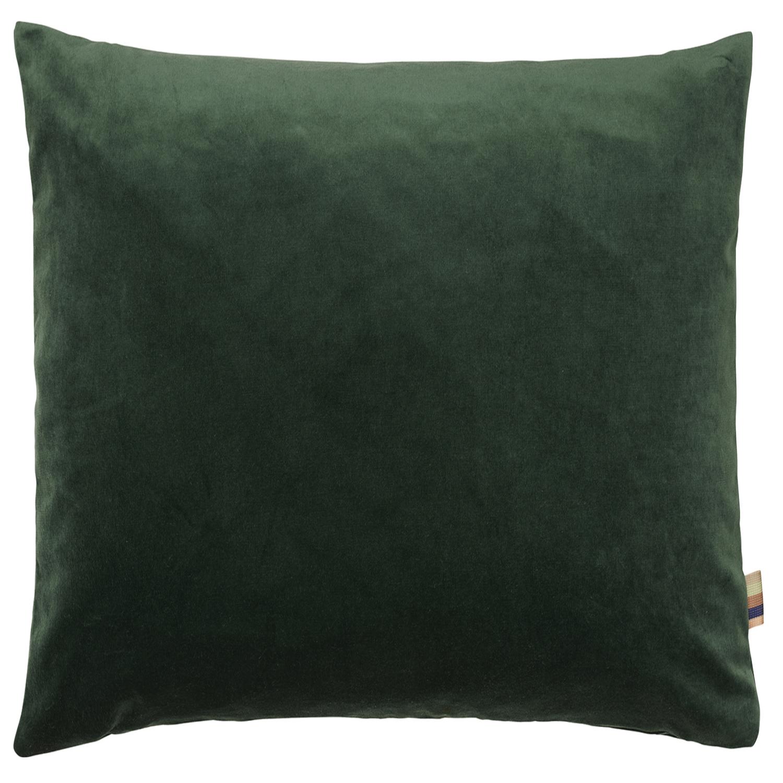 HMT Pyntepude m. fyld Leia Velour 70x70cm Mørkgrøn thumbnail
