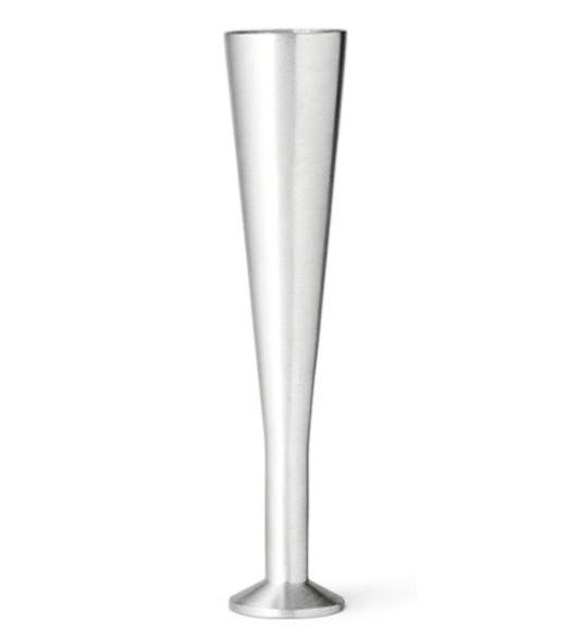 Køb Cocktail ben 20 cm børstet metal
