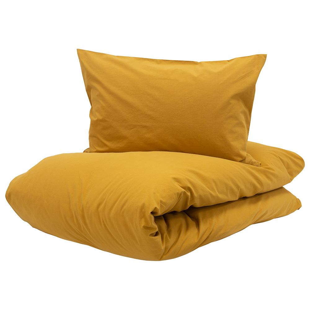 Turiform Chill sengesæt mustard 140x200